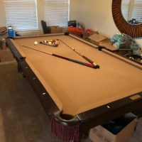 Olhausen 8Ft Professional Pool Table