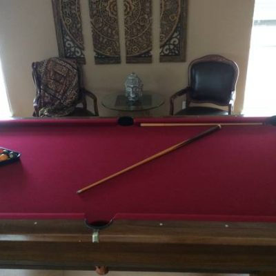 Brunswick Pool Table with Accessories