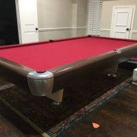Snooker Vintage Pool Table For Sale.