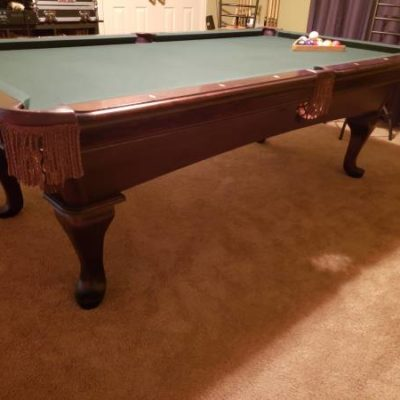 AMF Pool Table Limited Signature